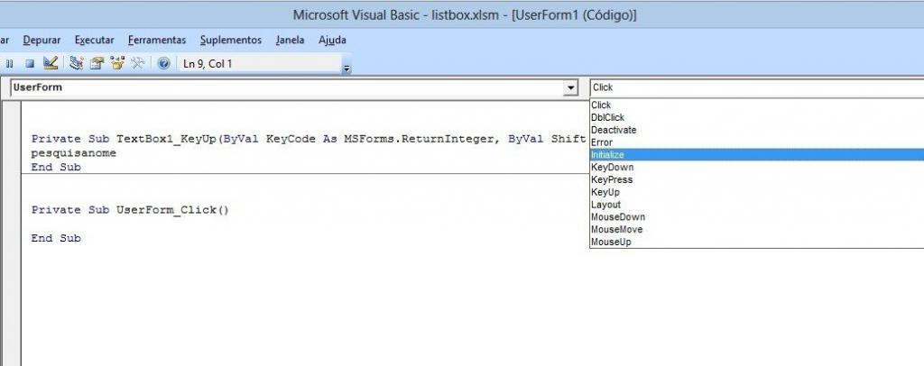 image7 1024x406 Formulário de pesquisa avançada no listbox com Excel VBA