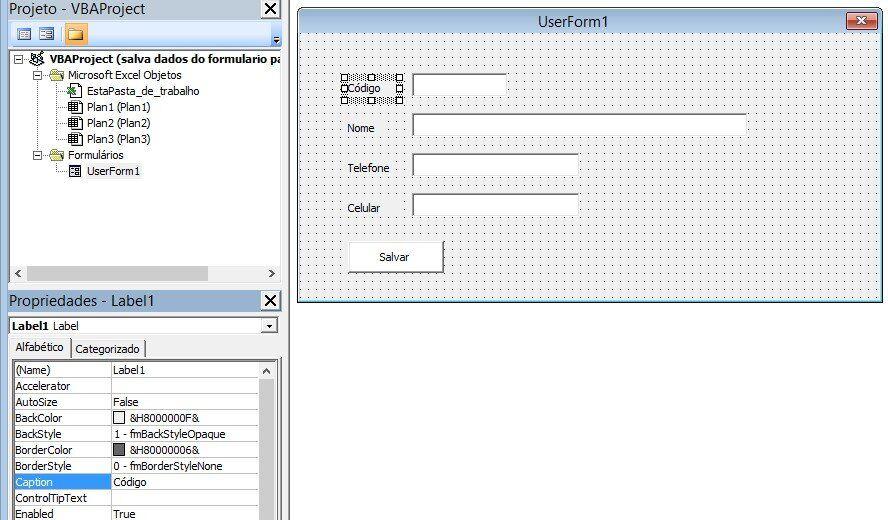 imagem 4 Formulário de pesquisa avançada no listbox com Excel VBA