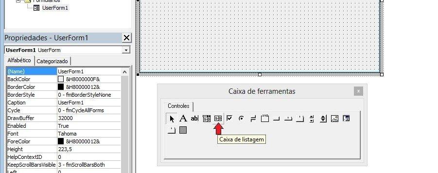 imagem12 Formulário de pesquisa avançada no listbox com Excel VBA