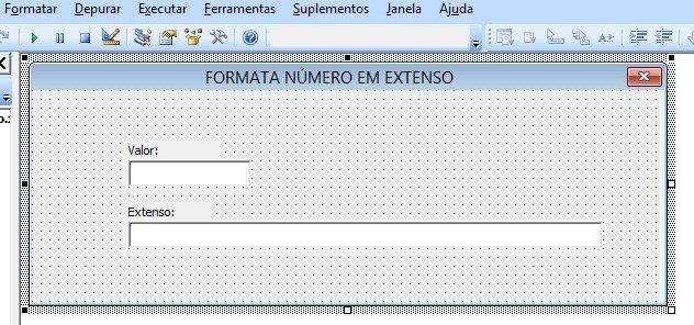 Números por extenso - Escrever por extenso no excel vba código userform