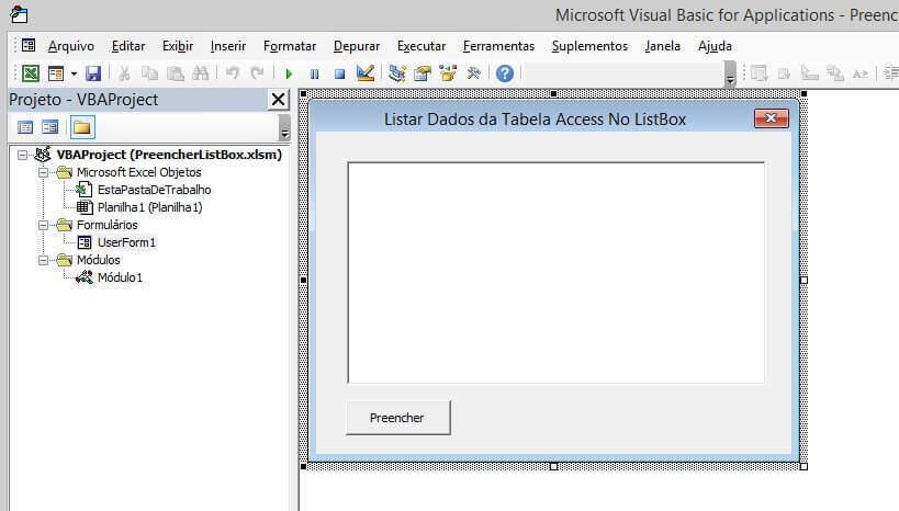 Pesquisa VBA - Pesquisar Dados De Uma Tabela Access img 1