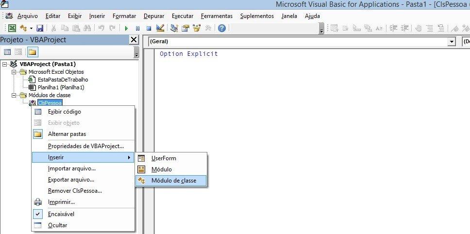 Formatação De TextBox : Utilizando WithEvents No VBA Adicionando um módulo de classe